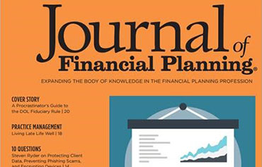 Journal of Financial Planning August 2017
