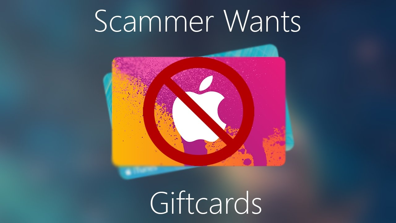 """Scam Of The Week: """"The Boss Needs iTunes Gift Cards for Customers...NOW"""""""